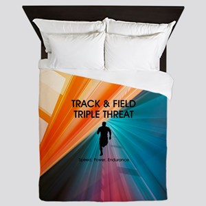 TOP Track and Field Queen Duvet