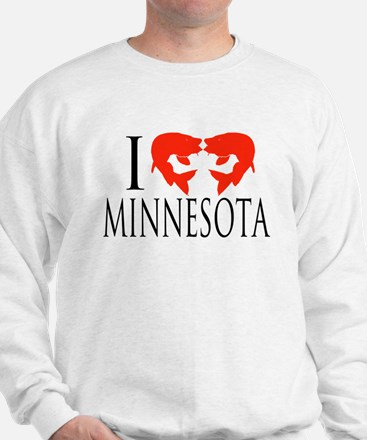 I fish Minnesota Sweatshirt
