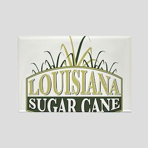 Louisiana Sugarcane shield Rectangle Magnet