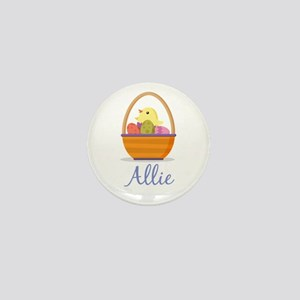 Easter Basket Allie Mini Button