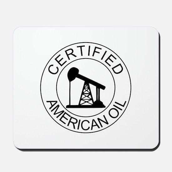Certified American Oil Mousepad