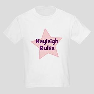 Kayleigh Rules Kids T-Shirt