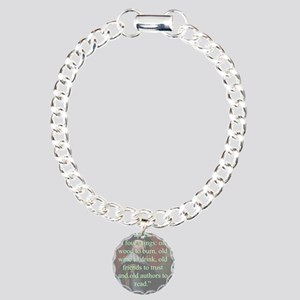 Age Appears Best - Bacon Charm Bracelet, One Charm