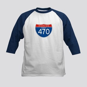Interstate 470 - KS Kids Baseball Jersey