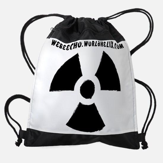 we be echo readioactivity Drawstring Bag