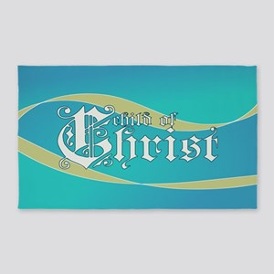 Child of Christ waves 3'x5' Area Rug