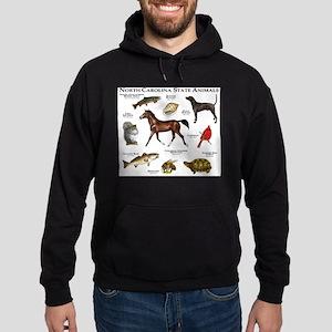 North Carolina State Animals Hoodie (dark)