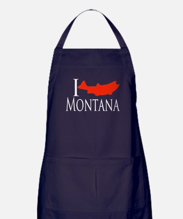 I fish Montana Apron (dark)
