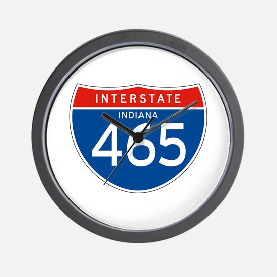 Interstate 465 - IN Wall Clock