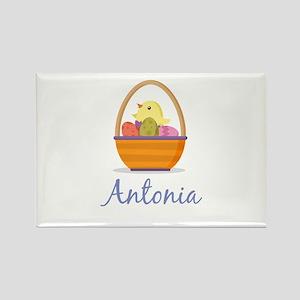 Easter Basket Antonia Rectangle Magnet