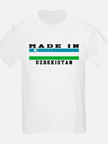 Uzbekistan Made In T-Shirt