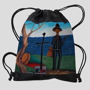 Baron Samedi Drawstring Bag