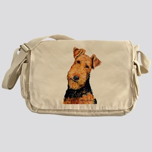 Airedale Terrier Messenger Bag