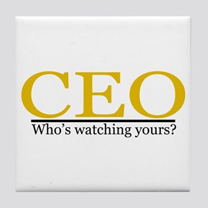 CEO Tile Coaster