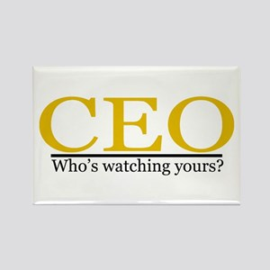 CEO Rectangle Magnet