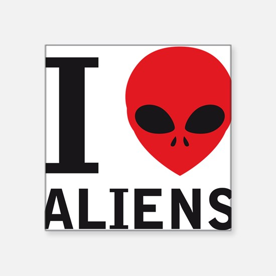 i_love_aliens Sticker