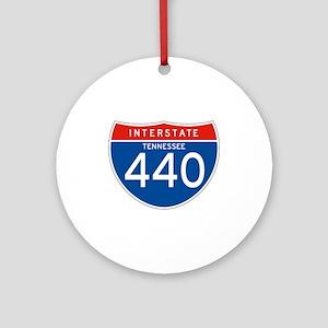 Interstate 440 - TN Ornament (Round)