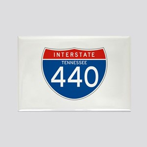 Interstate 440 - TN Rectangle Magnet