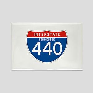 Interstate 440 - TN Rectangle Magnet