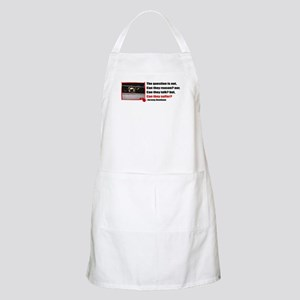 Do They Suffer? BBQ Apron