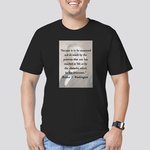 B_Washington - Succes Is to Be Measured T-Shirt