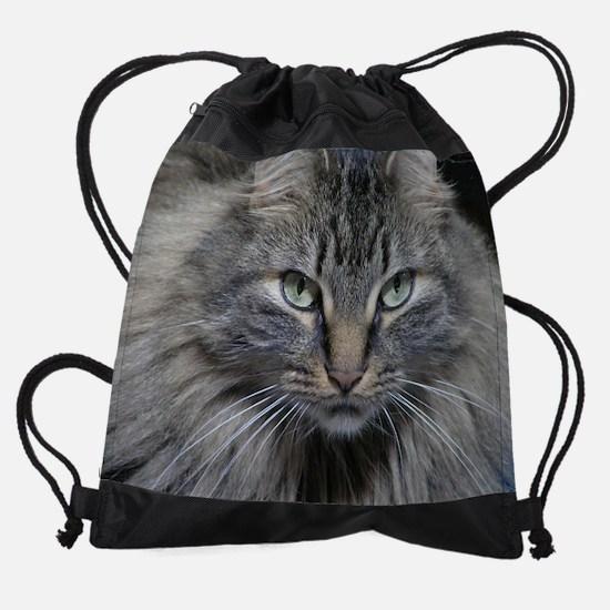 Main Coon Kitty Cat Drawstring Bag