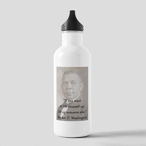 B_Washington - Lift Yourself Up Water Bottle