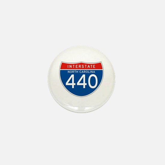 Interstate 440 - NC Mini Button