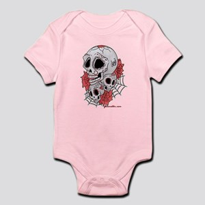 Sugar Skulls and Roses Infant Bodysuit