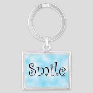 Smile Landscape Keychain