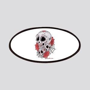 Sugar Skulls and Roses Patches
