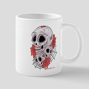 Sugar Skulls and Roses Mug