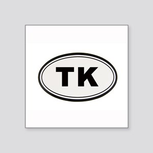 "Tony Kornheiser Sticker Square Sticker 3"" x 3"""
