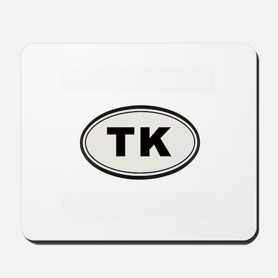 Tony Kornheiser Sticker Mousepad