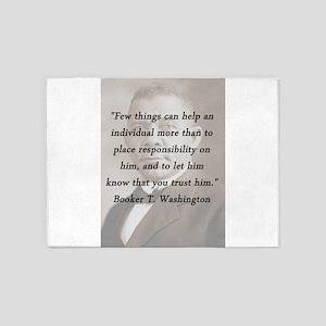 B_Washington - Few Things 5'x7'Area Rug