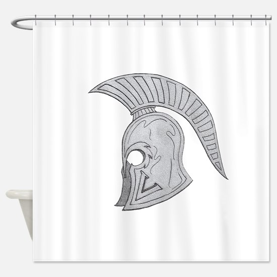 SPARTAN V 2 Shower Curtain