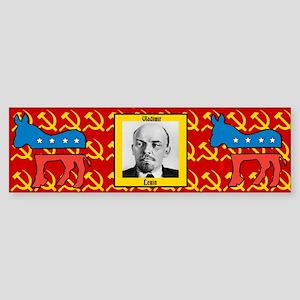 DNC Unmasked Sticker (Bumper)