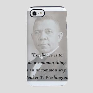 B_Washington - Excellence iPhone 7 Tough Case