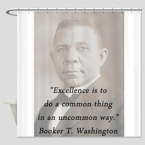 B_Washington - Excellence Shower Curtain