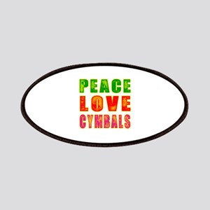 Peace Love Cymbals Patches
