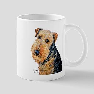 Airedale Terrier Portrait Mug