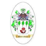 Bernradoux Sticker (Oval 10 pk)