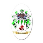 Bernradoux 35x21 Oval Wall Decal