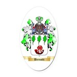 Bernotti Oval Car Magnet