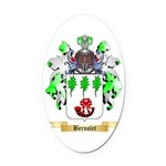 Bernolet Oval Car Magnet