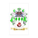 Bernhardt Sticker (Rectangle 10 pk)