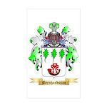 Bernhardsson Sticker (Rectangle 50 pk)