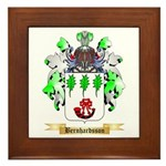 Bernhardsson Framed Tile