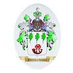 Bernhardsson Ornament (Oval)
