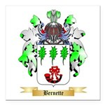 Bernette Square Car Magnet 3